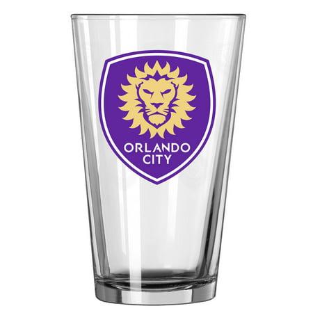 Orlando City SC 16oz. Satin Etch Pint Glass - No Size
