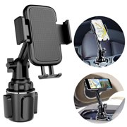 Car Cup Holder Phone Mount, Cell Phone Holder Universal Adjustable Cup Holder Cradle Car Mount with Flexible Long Neck for iPhone 11 Pro/XR/XS Max/X/8/7 Plus/Samsung S10+/Note 9/S8 Plus/S7 Edg