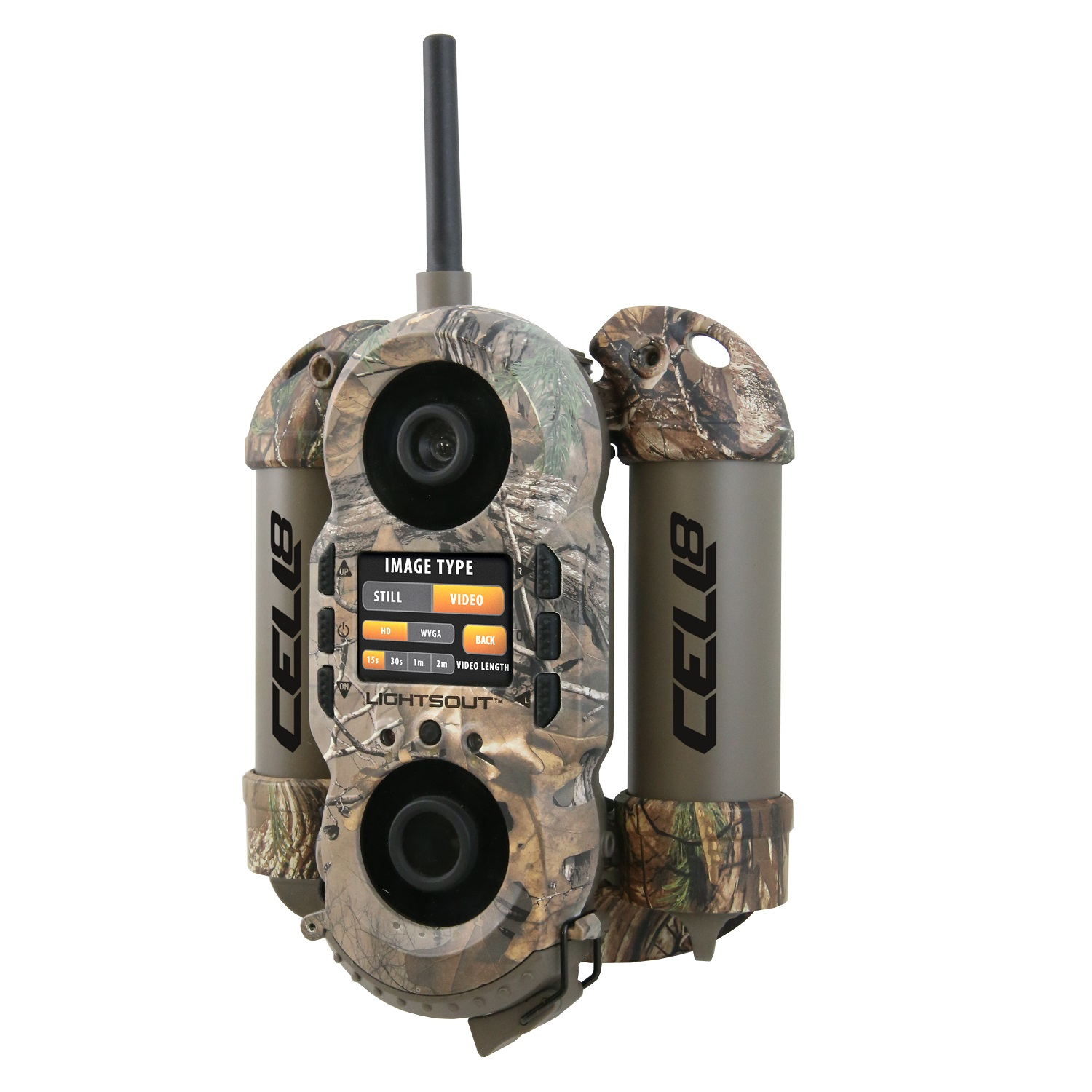 Wildgame Innovations Crush 8 Cell Trail Camera-Realtree Xtra