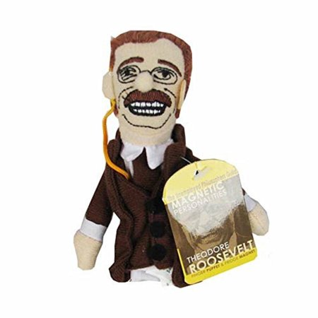 Theodore Teddy Roosevelt Finger Puppet and Refrigerator Magnet