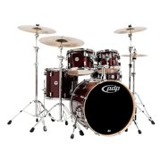 PDP by DW Concept Maple 5-Piece Shell Pack Transparent Cherry