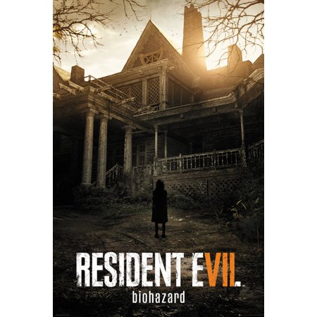 Resident Evil 7  Biohazard   Gaming Poster   Print  Game Cover   Size  24   X 36