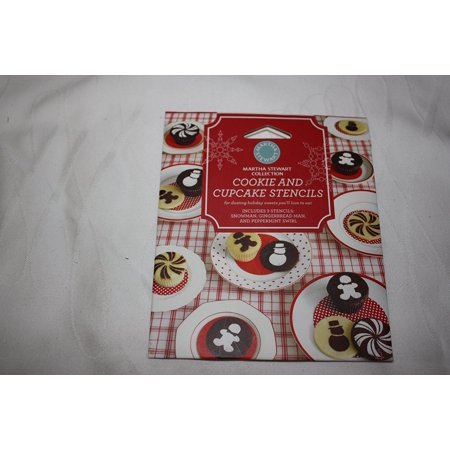 Martha Stewart Collection Cookie and Cupcake Stencils - Halloween Ghost Cupcakes Martha Stewart