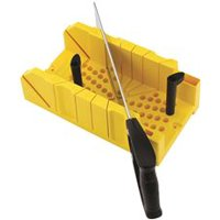 STANLEY 20-600 Deluxe Miter Box With Saw
