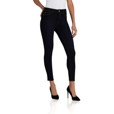 878145d990a Jordache - Women s Essential High Rise Super Skinny Ankle Jean - Walmart.com