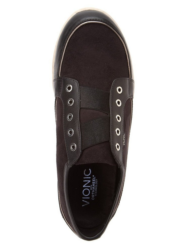 Vionic by Orthaheel Marina Black Orthotic Casual Shoes