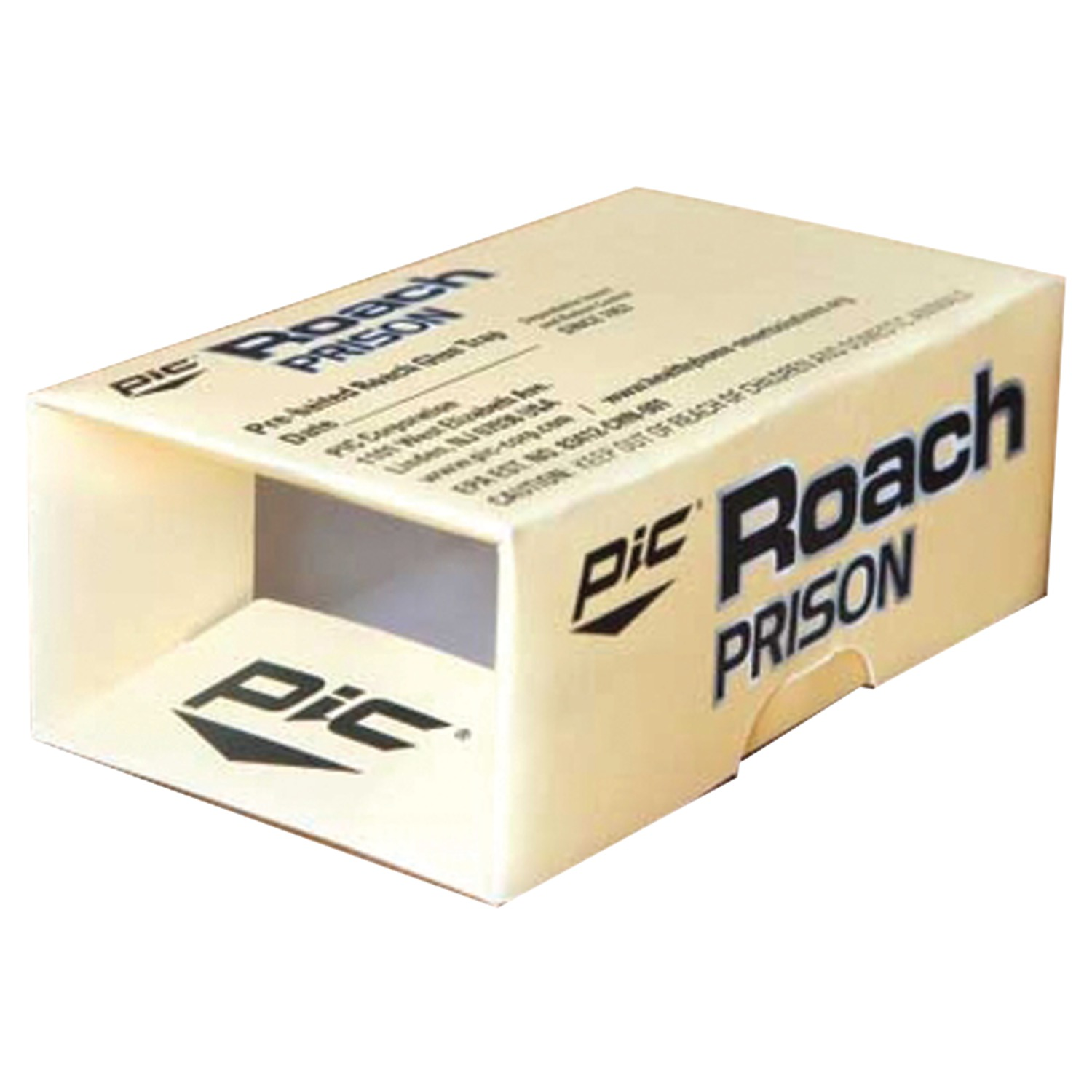 PIC RP Roach Prison Covered Insect Glue Trap, 2 pk
