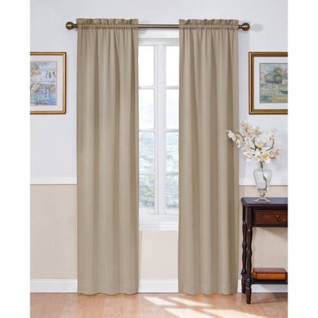 Eclipse Solid Thermapanel Room-Darkening Curtain (Window Treatments For Living And Dining Rooms)