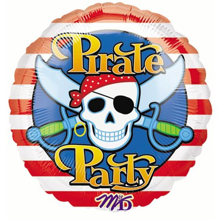 Anagram Pirate Party Skull and Cutlass HeXL 18