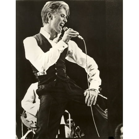 Laminated Poster David Bowie Let'S Dance Tour Rock Star Music S Poster Print 24 x 36
