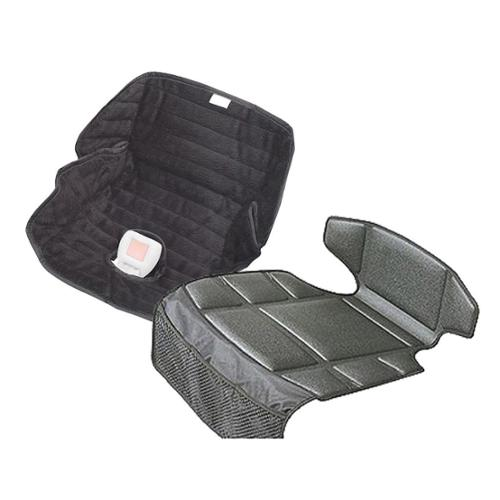Prince Lionheart Compact Seatsaver Car Seat Mat with Summer Infant Deluxe Piddle Pad