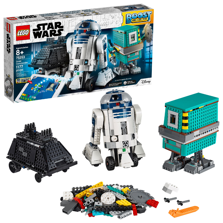 LEGO Star Wars Boost Droid Commander STEM Coding Educational Building Set for Kids 75253