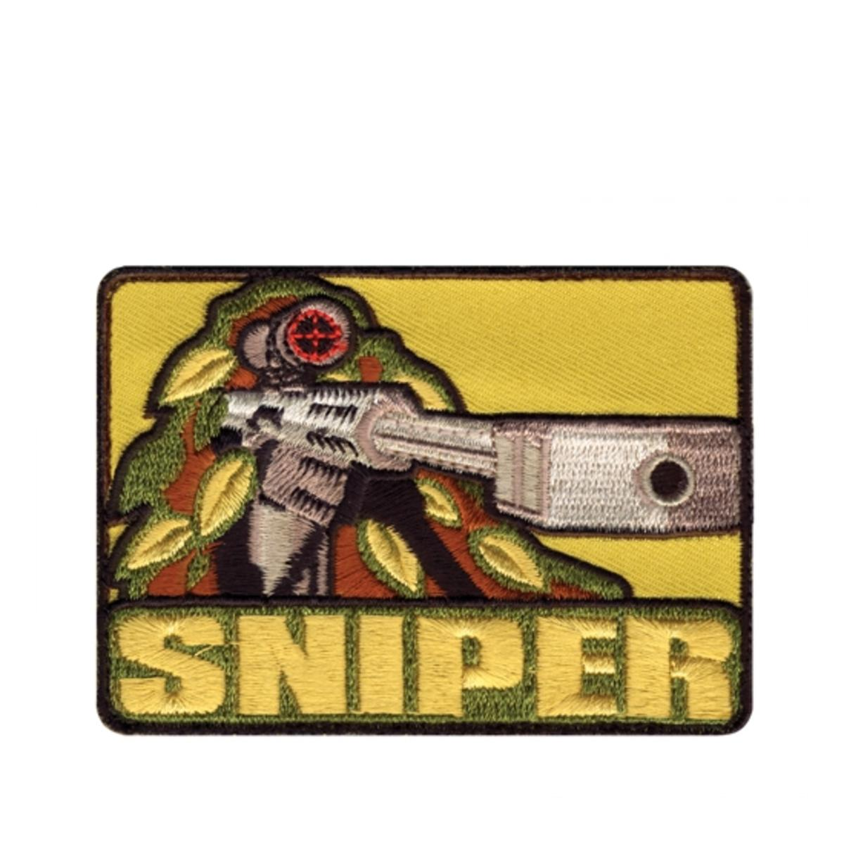 "Rothco Sniper 2.5"" x 3.5"" Embroidered Patch with Hook Backing"