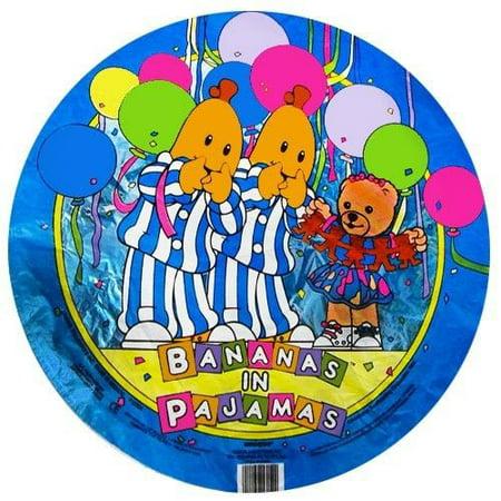Bananas in Pajamas Vintage 1995 Foil Mylar Balloon (1ct)