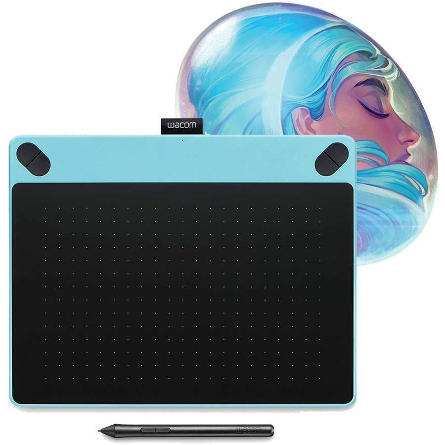 Wacom Intuos ART Pen & Touch Tablet, Medium, Blue