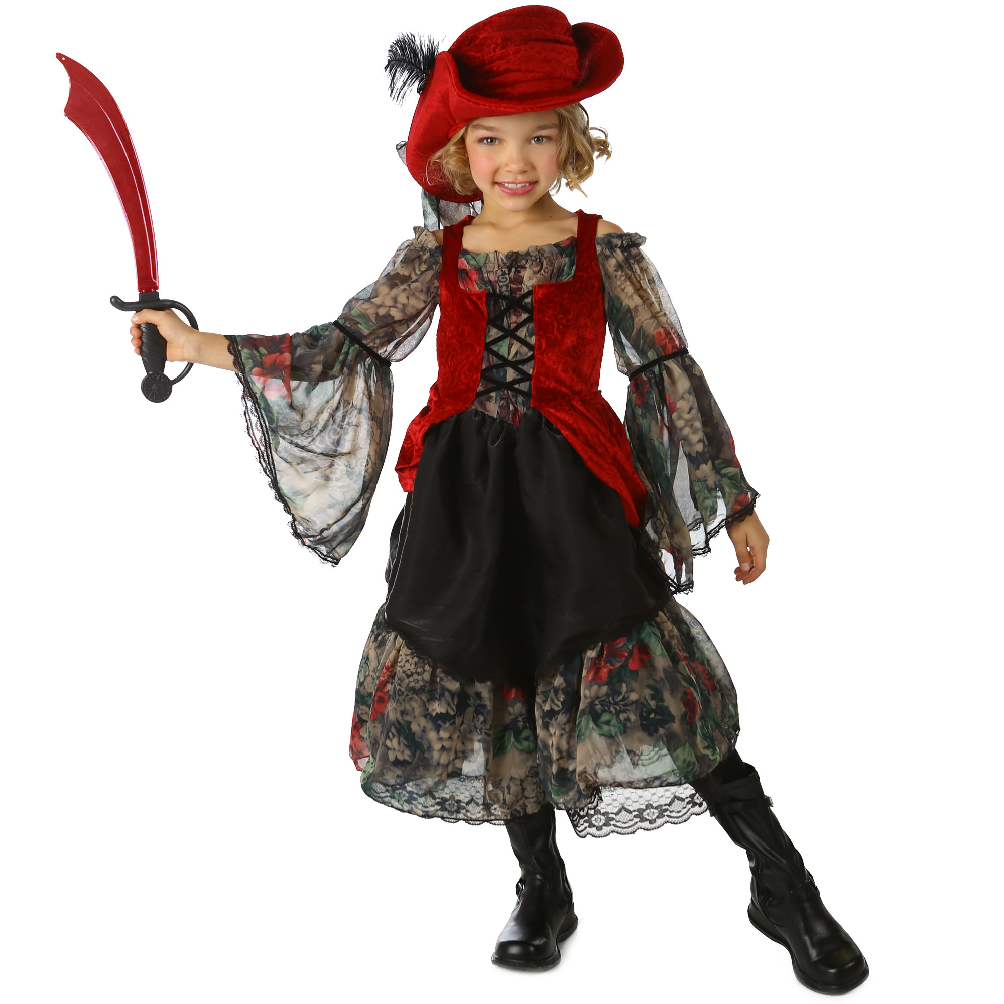 Princess Paradise Premium Pocket Pirate Child Costume