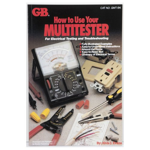 GB Gardner Bender GMT-BK Gardner Bender How To Use Your Multitester Book