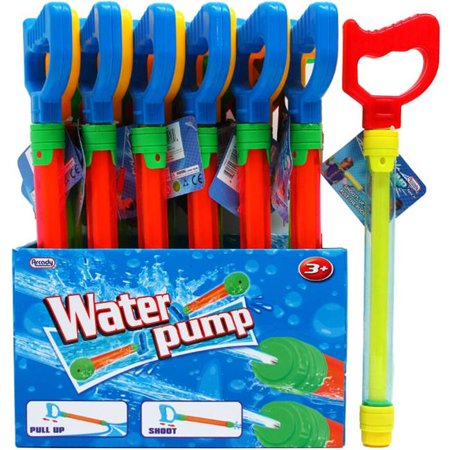 DDI 2330912 11.5 x 1.25 in. Water Pump with Handle Play Set, Clear - Case of (Pump Sets Case)