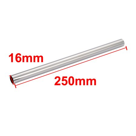 16mm Outer Dia 250mm Length Metal Straight Tube DIY Lighting Accessory - image 2 de 4