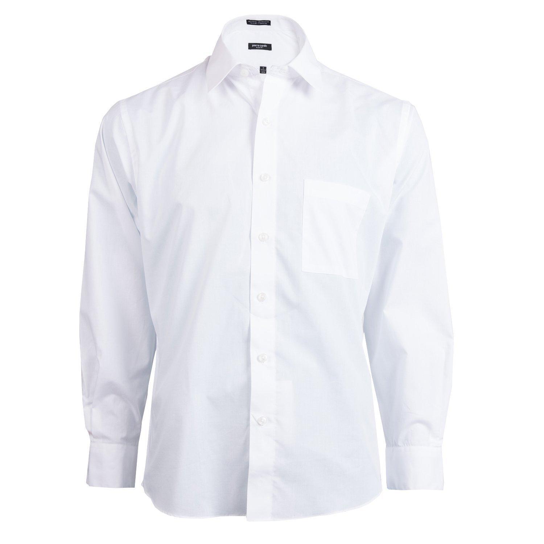 Pierre Cardin Pierre Cardin Mens Slim Fit Shirt White 15 155