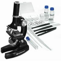 Smithsonian 150x, 450x, and 900x Microscope Kit