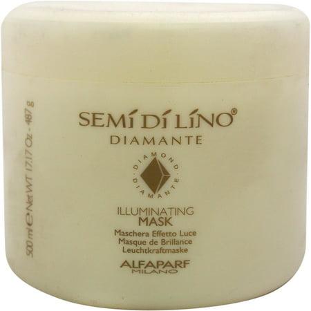 Image of Alfaparf Semi Di Lino Diamond Illuminating Mask, 17.17 fl oz