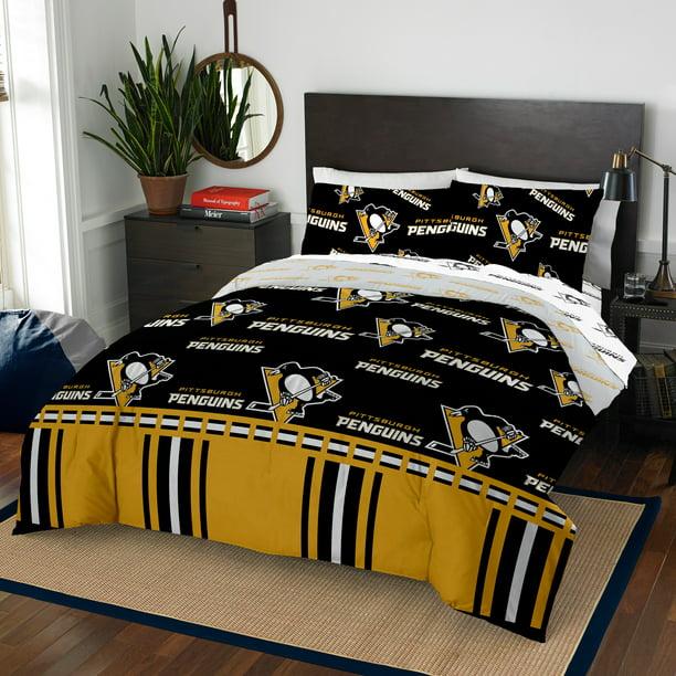 Pittsburgh Penguins Queen Bed In Bag, Pittsburgh Penguins Bedding Queen