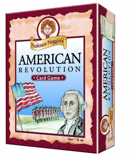 Educational Trivia Card Game Professor Noggin's American Revolution by Outset Media by Outset Media