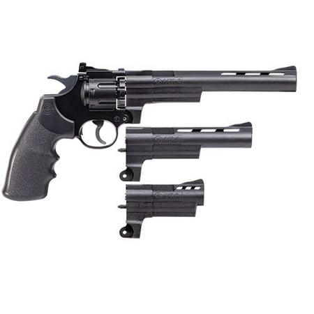 Crosman Triple Threat Semi-Auto CO2 Air Revolver with various barrel lengths (3