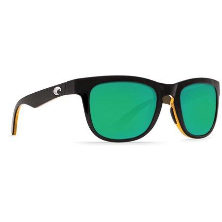 COP 80 OGMP Copra Shiny Black/Amber/Green Mirror Lens (Copper 580p Lens)
