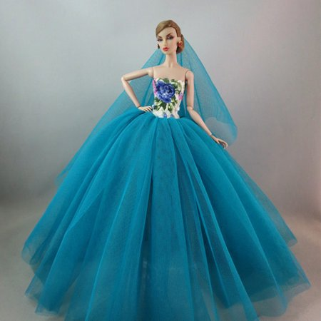 Elegant Evening Wear Princess Large Tailed Wedding Dress Noble Party