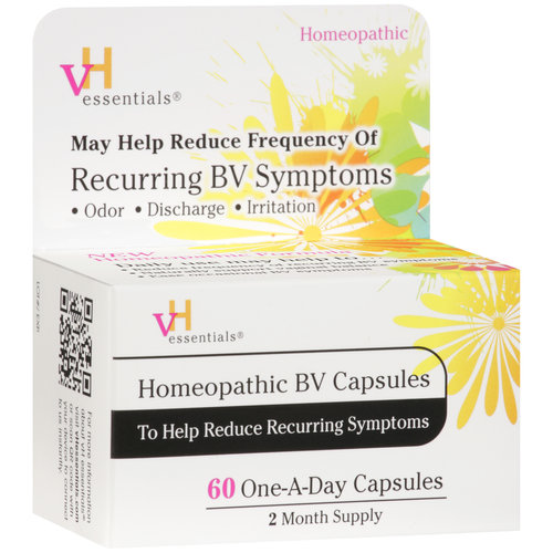 VH Essentials Homeopathic Bacterial Vaginosis (BV) Capsules, 60 count