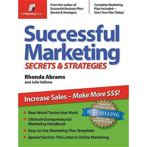 Successful Marketing Secrets & Strategies