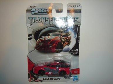 2011 Hasbro Speed Stars Transformers Dark Of The Moon Leadfoot Impala Red Tar... by Hasbro
