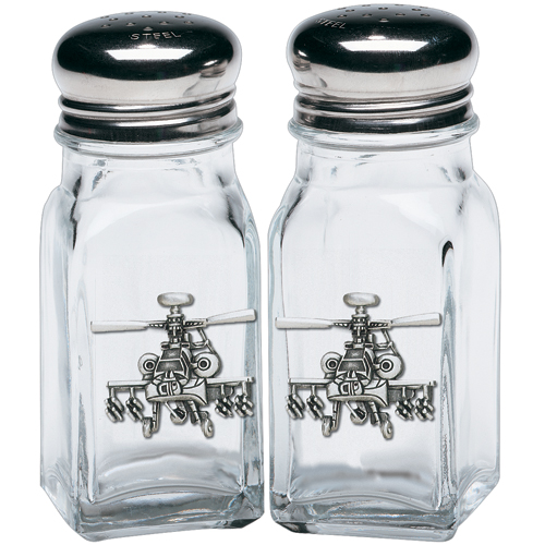 Helicopter Salt & Pepper Shakers