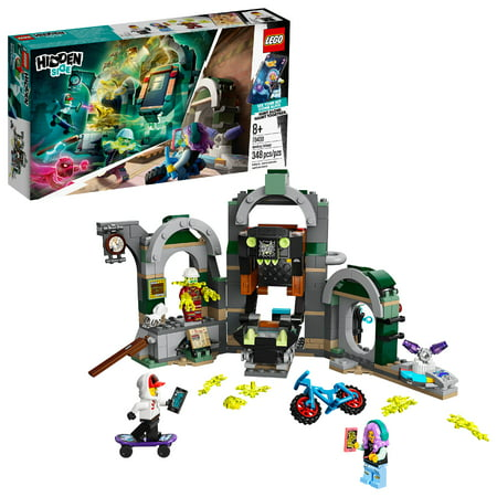 LEGO Hidden Side Newbury Subway 70430 Augmented Reality (AR) Play Experience for Kids (348 Pieces)