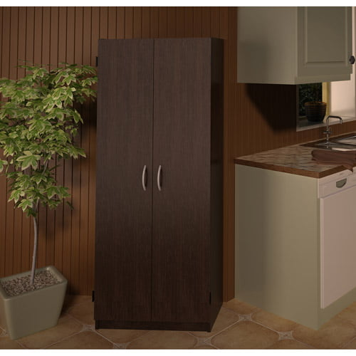 Storage pantry cabinet with doors kitchen cupboard for Kitchen cupboard doors