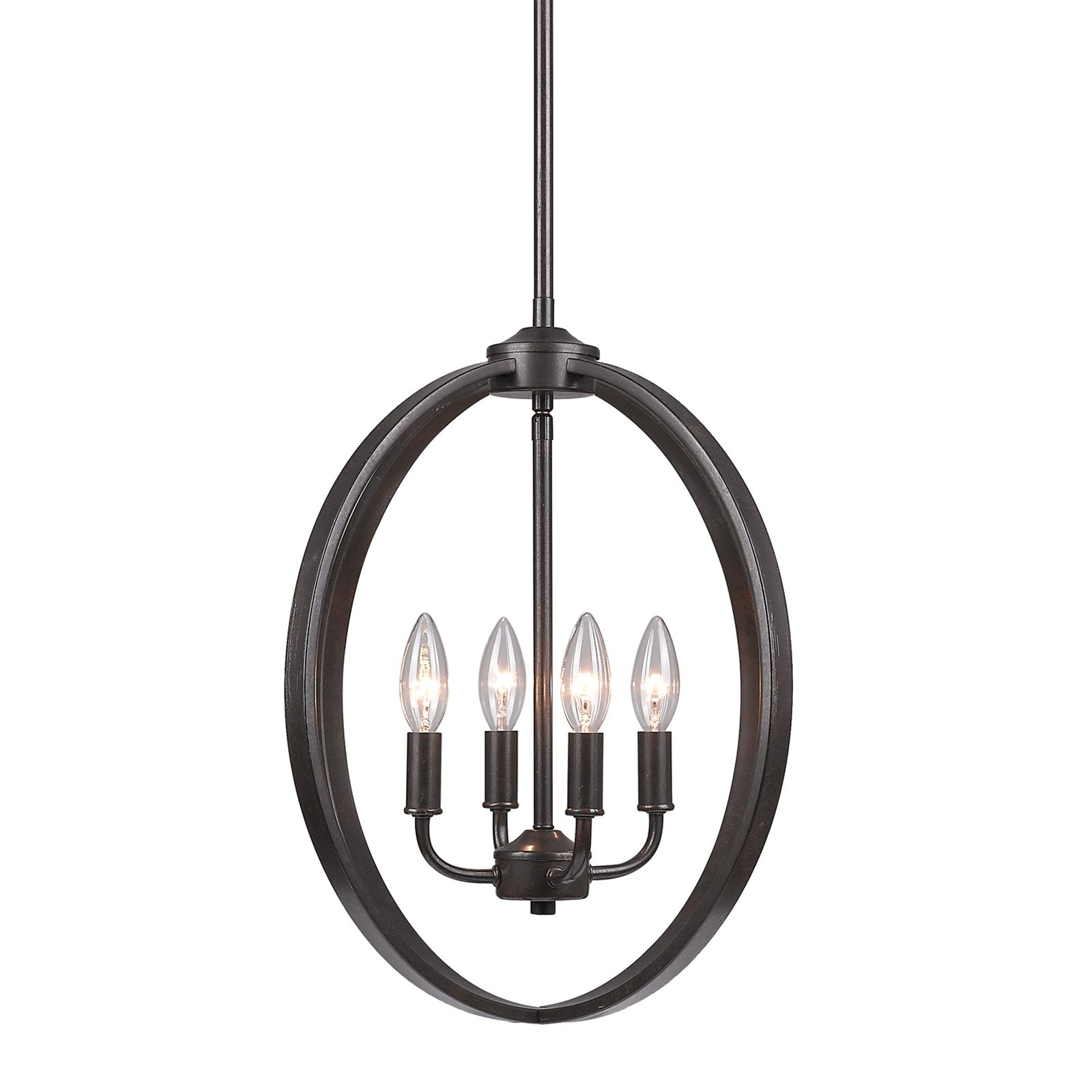 golden lighting chandelier. Golden Lighting Colson EB 4 Light Chandelier In Etruscan Bronze A