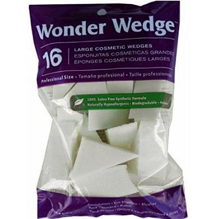 Wonder Wedge Cosmetic Wedge, Large 16 ea Foam Applicator Sponge