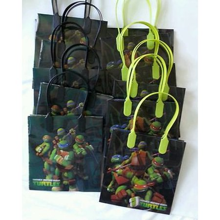 Ninja Turtle Goodie Bags (12PCS Teenage Mutant Ninja Turtles Goodie Party Favor Gift Birthday Loot)