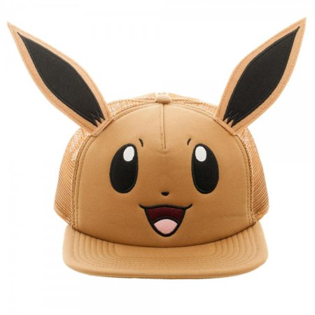 Baseball Cap - Pokemon - Eevee Big Face Trucker New Licensed - Pokemon Hat