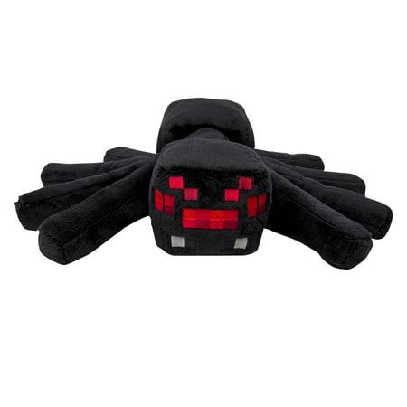 Minecraft, Large Plush Spider (Minecraft Valentine's Day Box)