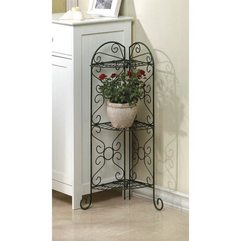 Zingz and Thingz Corner Plant Stand by Zingz & Thingz