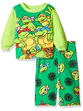 50b84aca72 Product Image Nickelodeon Boys Ninja Turtle 2-Piece Fleece Pajama Set