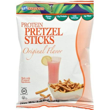 Halloween Pretzel Sticks Recipe (Kay's Naturals High Protein Pretzel Sticks - Orange - Pack of 6 - 1.2)