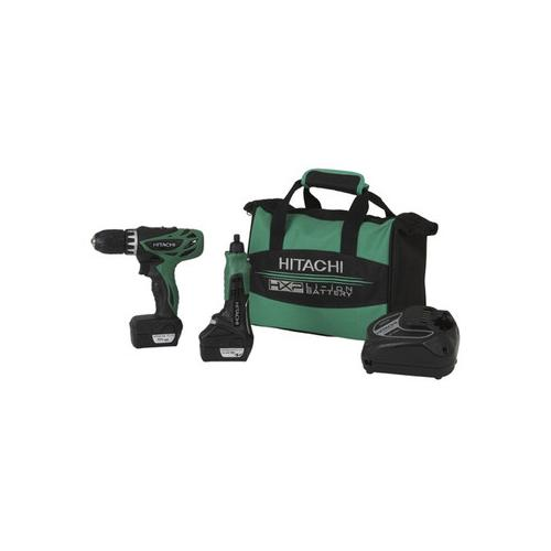Hitachi 12V 1.5AMP Cordless Driver Kit