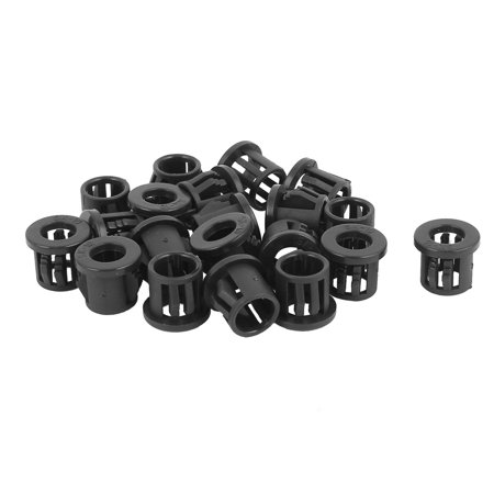 20pcs 10mm Mounted Dia Snap in Cable Bushing Grommet Protector - Snap In Bushing