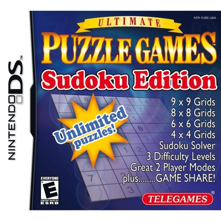 Ultimate Puzzle Games: Sudoku Editition (DS) (Ds Minion Game)