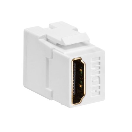 Leviton HDMI Feedthrough QuickPort Connector (40834wh)