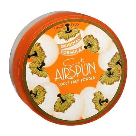 Coty Airspun Loose Face Powder, Translucent - 2.3 Oz, 2 Pack - Party Cotu